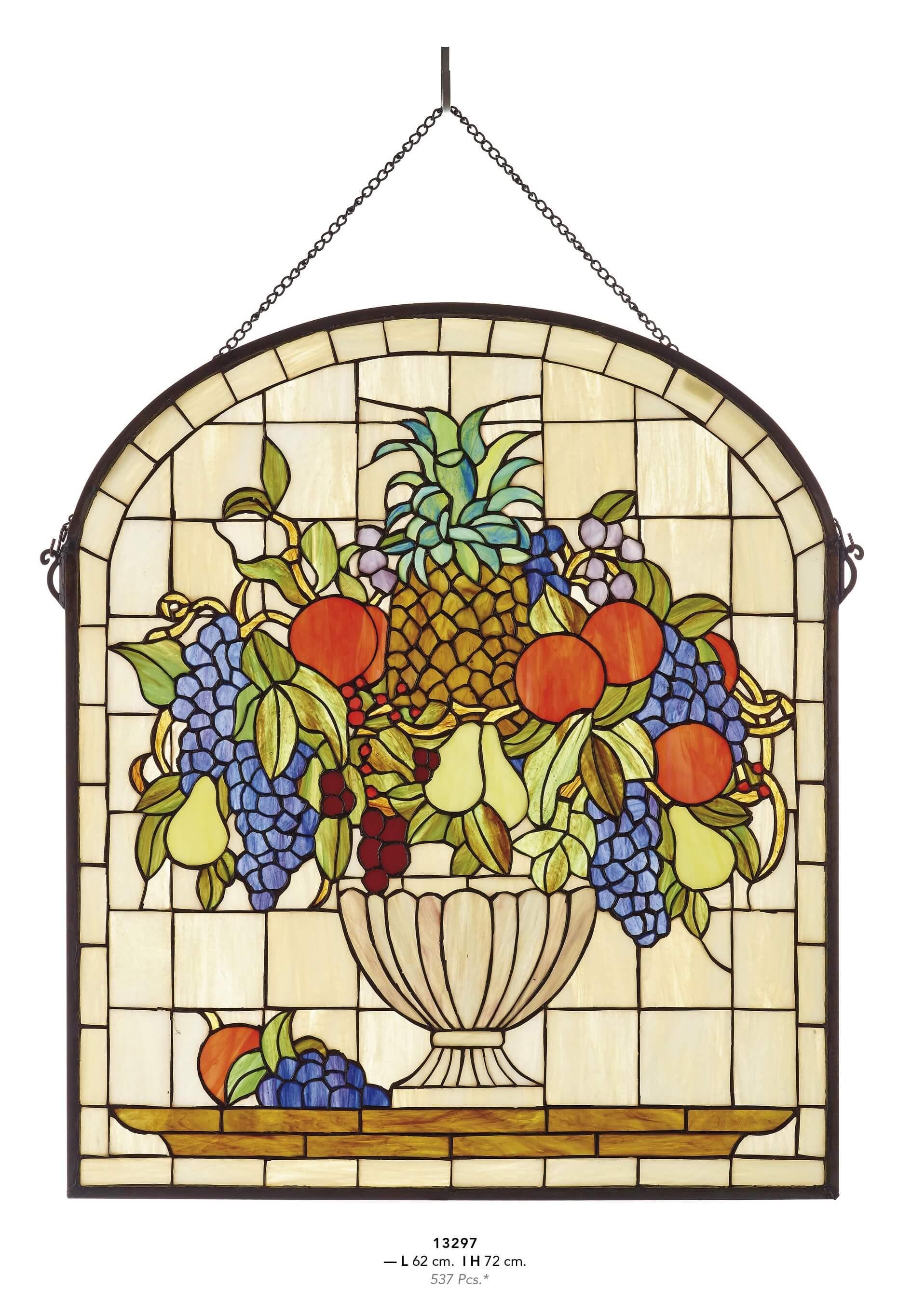 Panneau décoratif style tiffany 13297