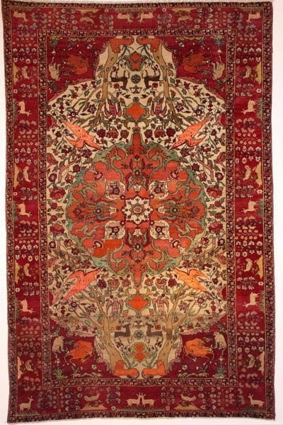 Antique tapis, Tehran, Iran