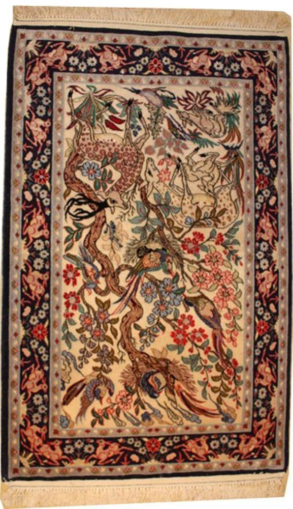 Tapis d'Isfahan, Iran
