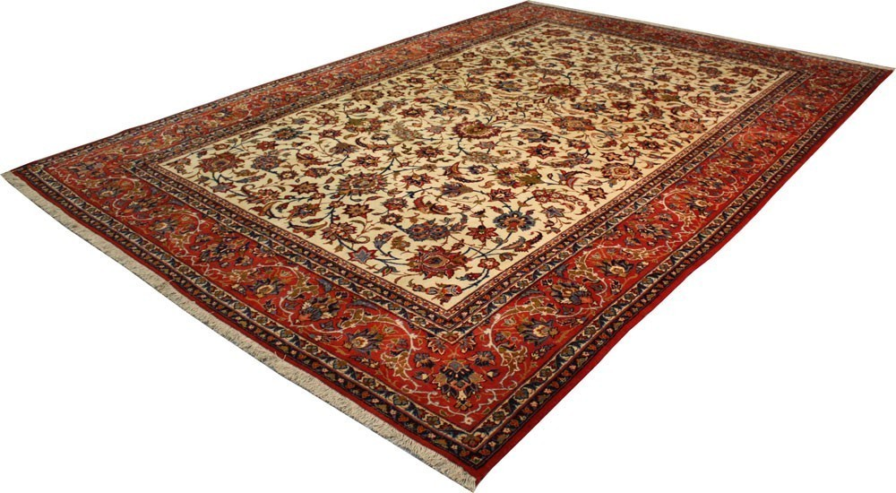 Tapis antique, Isfahan, Iran